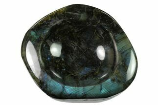 "Buy 6.6"" Polished, Flashy Labradorite Dish - Madagascar - #153943"