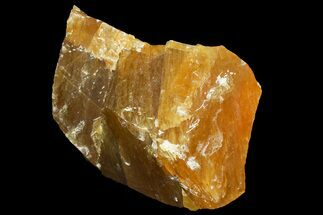 "Buy 8.6"" Free-Standing Golden Calcite - Chihuahua, Mexico - #155788"