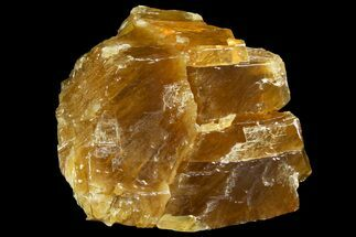 "6.6"" Free-Standing Golden Calcite - Chihuahua, Mexico For Sale, #155789"