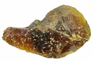 "3.2"" Rough Blue Indonesian Amber - West Java, Indonesia For Sale, #154934"
