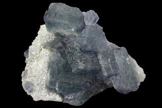 Fluorite & Quartz - Fossils For Sale - #149742