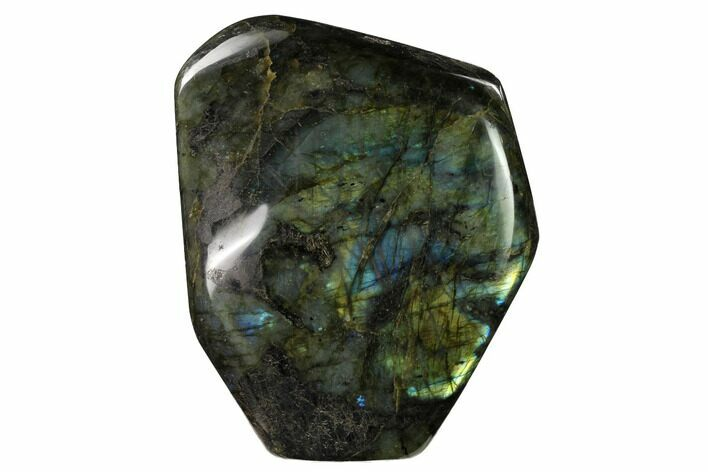 "6.3"" Flashy, Polished Labradorite Free Form - Madagascar"
