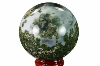 "2.3"" Unique Ocean Jasper Sphere - Madagascar For Sale, #157553"