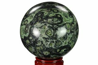 "4.05"" Polished Kambaba Jasper Sphere - Madagascar For Sale, #158612"