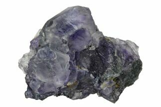 "1.4"" Purple Cuboctahedral Fluorite Crystal Cluster - China For Sale, #161801"