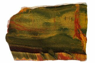 "Buy 6.2"" Marra Mamba Tiger's Eye Slab - Mt. Brockman (2.7 Billion Years) - #161944"