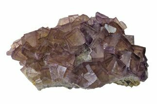 "Buy 4.6"" Cubic Purple Fluorite with Phantoms - Yaogangxian Mine - #162010"