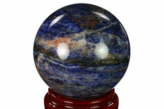 "Buy 3.85"" Polished Sodalite Sphere  - #162694"