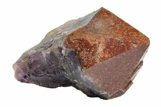 "Buy 6.9"" Red Cap Amethyst Crystal - Thunder Bay, Ontario - #164434"