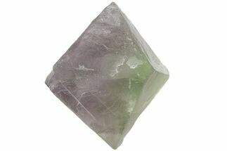 "Buy 1.75"" Purple and Green Fluorite Octahedron - China - #164563"