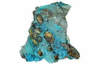 "Buy 1.5"" Botryoidal Chrysocolla on Quartz - Tentadora Mine, Peru - #169237"