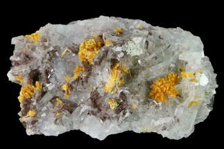 Barite, Pyrite & Orpiment - Fossils For Sale - #169062