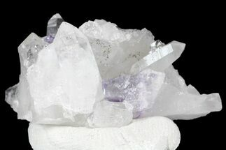 "Buy .6"" Cubic Purple Fluorite Crystals with Quartz - China - #166171"