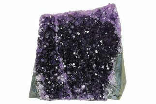 "3.7"" Free-Standing, Amethyst Geode Section - Uruguay For Sale, #171941"