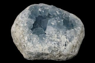 "3.6"" Sparkly Celestine (Celestite) Geode - Madagascar For Sale, #173081"