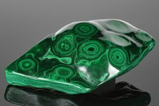 "Buy 7"" Beautiful, Polished Malachite Specimen - Congo - #176095"