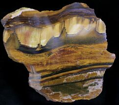 Banded Tiger Iron Stromatolite - Mt. Brockman (2.7 Billion Years) For Sale, #22484