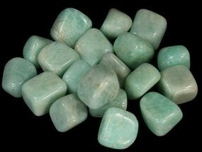 Bulk Polished Amazonite - 8oz. (~ 15pc.)