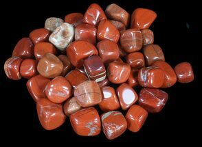 Bulk Polished Red Jasper - 8oz. (~ 20pc.)