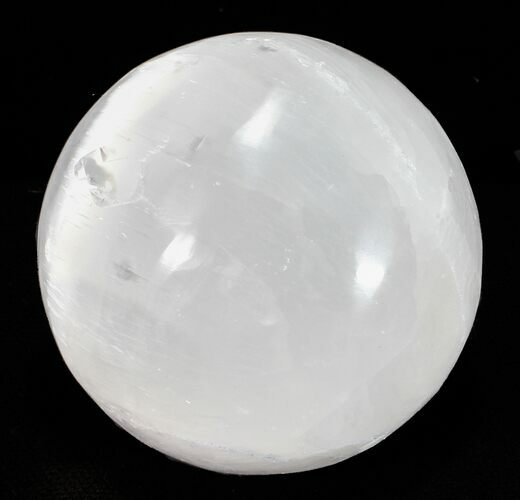"Wholesale Box: 2"" Selenite Spheres - 100 Pieces - Photo 1"