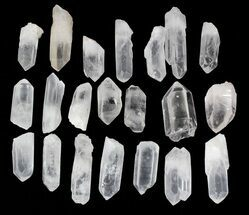 "Medium Quartz Crystal Points (2-3"" size) - 1 KG Bag"