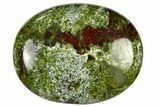 "1.8"" Polished Dragon's Blood Jasper Pocket Stone  - Photo 3"