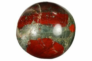 "1.2"" Polished Bloodstone Sphere"