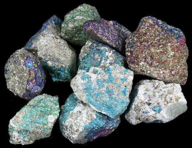 Bulk Peacock Ore (Treated Chalcopyrite) - 3 Pack - Photo 1