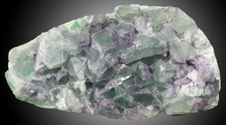 "5.45"" Fluorite on Aragonite & Quartz - China For Sale, #31859"