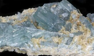 Barite on Calcite - Fossils For Sale - #33780