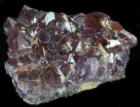 "Buy 1.9"" Thunder Bay Amethyst Cluster With Hematite - #34027"