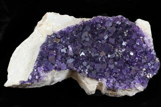 "23"" Purple, Cubic Fluorite Plate - Cave-in-Rock, Illinois For Sale, #35711"