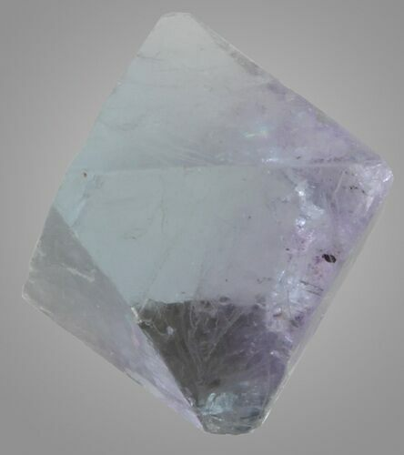 ".75"" Blue, Cleaved Fluorite Octahedron - Illinois"