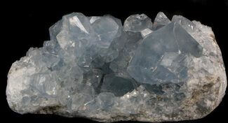 "Buy 4.8"" Celestite Crystal Cluster - Icy Blue Crystals - #37093"