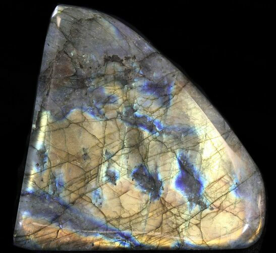 "3.5"" Flashy Polished Labradorite - Free-Standing"