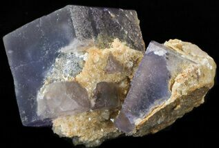 "Buy 2.7"" Fluorite Cube Cluster with Calcite - Pakistan - #38647"