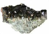 "Lustrous 2.3"" Epidote Crystal Cluster - Pakistan - #41555-1"