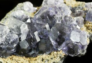 "2.8"" Blue Fluorite Crystals with Quartz - China For Sale, #45917"