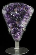 "Buy 6.2"" Dark Amethyst Crystal Cluster On Stand - Gorgeous - #50710"