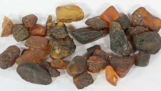 Buy Bulk Raw Amber From Mexico - 25 grams (~20-30 pc.) - #51595