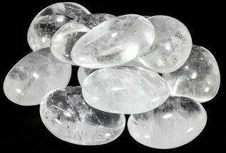 "1 1/2 to 2"" Polished Clear Quartz ""Pebbles"" For Sale, #54581"