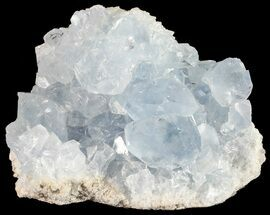 "Buy 2.7"" Sky Blue Celestite Crystal Cluster - Madagascar - #54820"
