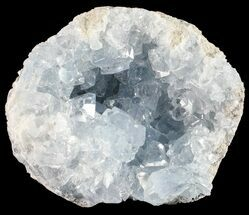 "2.4"" Sky Blue Celestite Crystal Cluster - Madagascar For Sale, #54821"