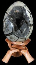 "Buy 6.2"" Septarian ""Dragon Egg"" Geode With Removable Section - #56149"