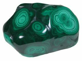 "Buy 2.6"" Polished Malachite - Congo - #58195"
