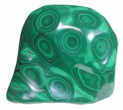 "Buy 4.3"" Polished Malachite - Congo - #58201"