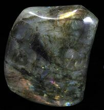 "4.2"" Tall, Flashy Polished Free Form Labradorite For Sale, #60071"