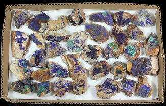 Azurite & Malachite - Fossils For Sale - #61608