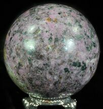 "Buy 2"" Polished Cobaltoan Calcite Sphere - Congo - #63901"