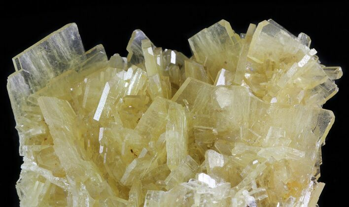 "2.8"" Yellow Barite Crystal Cluster - Peru"